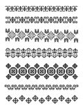 Kazakhstan traditional embroidry Royalty Free Stock Images