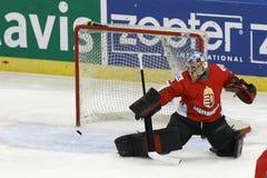 Kazakhstan vs. Hungary IIHF World Championship ice hockey match Stock Images