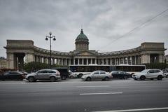 Kazan καθεδρικός ναός στην Αγία Πετρούπολη Στοκ φωτογραφία με δικαίωμα ελεύθερης χρήσης