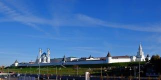 Kazan Κρεμλίνο, Kazan Rusia Στοκ εικόνα με δικαίωμα ελεύθερης χρήσης