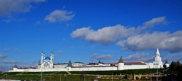 Kazan Κρεμλίνο, Kazan Rusia Στοκ φωτογραφία με δικαίωμα ελεύθερης χρήσης