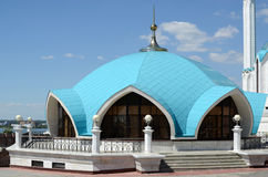 Kazan Κρεμλίνο. Κτήριο πυρσοβεστικών σταθμών ( Στοκ Φωτογραφίες