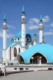 Kazan Κρεμλίνο, μουσουλμανικό τέμενος Kul Σαρίφ και Στοκ φωτογραφία με δικαίωμα ελεύθερης χρήσης