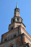 Kazan Κρεμλίνο, πύργος Syuyumbike, τεμάχιο Στοκ εικόνες με δικαίωμα ελεύθερης χρήσης