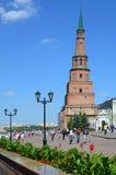 Kazan Κρεμλίνο, πύργος Syuyumbike Στοκ εικόνες με δικαίωμα ελεύθερης χρήσης