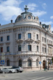 Kazan, μετάβαση του Αλεξάνδρου, ένα τεμάχιο ενός κτηρίου Στοκ Εικόνα
