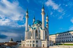kazan Μουσουλμανικό τέμενος kul-Σαρίφ Στοκ Εικόνες