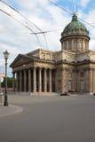 Kazan ορθόδοξος καθεδρικός ναός θόλος Isaac Πετρούπολη Ρωσία s Άγιος ST καθεδρικών ναών Στοκ φωτογραφία με δικαίωμα ελεύθερης χρήσης