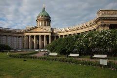 Kazan ορθόδοξος καθεδρικός ναός θόλος Isaac Πετρούπολη Ρωσία s Άγιος ST καθεδρικών ναών Στοκ Φωτογραφία