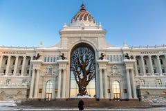 Kazan πόλη, Ρωσία Στοκ φωτογραφία με δικαίωμα ελεύθερης χρήσης