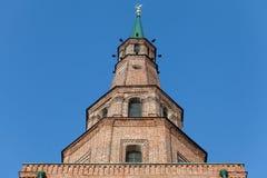 Kazan πύργων Suyumbike η πόλη Ταταρία Ρωσία ο πύργος βρίσκεται Στοκ φωτογραφίες με δικαίωμα ελεύθερης χρήσης