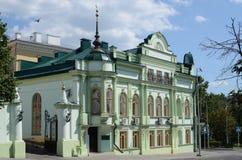 Kazan, χτίζοντας πνευματική διοίκηση μουσουλμάνου Στοκ εικόνα με δικαίωμα ελεύθερης χρήσης