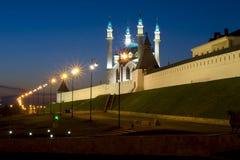 Kazan alla notte Fotografia Stock