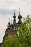 Kazan Amvrosievsky öknar (på shamordinokloster i den Kaluga regionen av Ryssland Fotografering för Bildbyråer