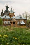 Kazan Amvrosievsky öknar (på shamordinokloster i den Kaluga regionen av Ryssland Royaltyfri Bild