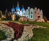 Kazan-Anzeiges-Kathedrale Stockfoto