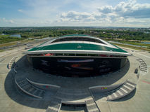 Kazan Arena, 2016. Kazan Sport Palace .Sport Arena. is a sport stadium in the Kazan, capital of Tatarstan in Russia Stock Photography