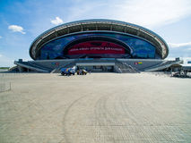 Kazan Arena, 2016. Kazan Sport Palace .Sport Arena. is a sport stadium in the Kazan, capital of Tatarstan in Russia Stock Image