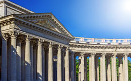 Kazan Cathedral or Cathedral of Our Lady of Kazan. Saint Petersburg. Kazan Cathedral or Cathedral of Our Lady of Kazan on Nevsky Prospect in St. Petersburg Stock Photos