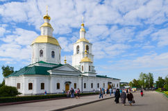 Kazan Cathedral, Church of Nativity of Christ and Church of Nati Royalty Free Stock Images