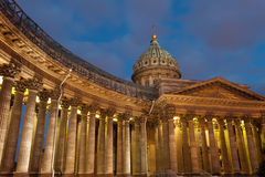 Kazan cathedral Royalty Free Stock Image