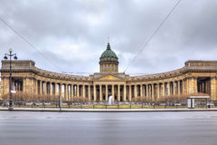Kazan Cathedral. HDR Royalty Free Stock Photo