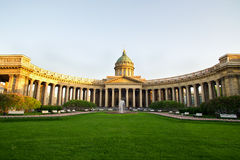 Kazan Cathedral Monument Royalty Free Stock Photography