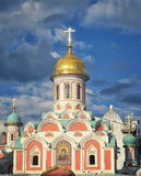 Kazan Cathedral in Moscow Kremlin Stock Photography