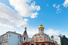 Kazan Cathedral, Moscow Royalty Free Stock Photos