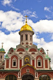 Kazan Cathedral in Moscow, Russia. Stock Image