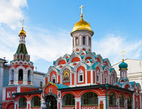 Kazan Cathedral, Moscow Stock Images