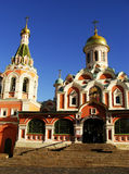 Kazan Cathedral, Moscow, Russia Stock Image