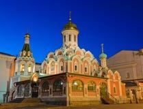 Kazan Cathedral Royalty Free Stock Photos