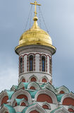 Kazan Cathedral on Red Square Stock Photography