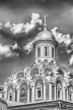 Kazan Cathedral in Red Square, Moscow, Russia. The russian orthodox Kazan Cathedral, iconic landmark in Red Square, Moscow, Russia Stock Images