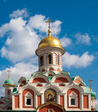 Kazan Cathedral is a Russian Orthodox church Royalty Free Stock Image