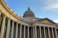 Kazan Cathedral, Saint Petersburg Stock Photo
