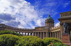 Kazan Cathedral in Saint Petersburg Royalty Free Stock Images