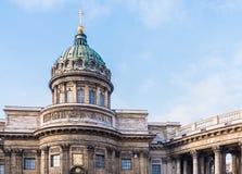 Kazan Cathedral in Saint Petersburg Royalty Free Stock Images