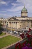 Kazan Cathedral in Saint Petersburg, Russia Royalty Free Stock Photos