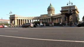 Kazan Cathedral  stock footage