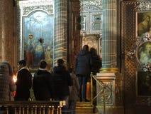 Kazan Cathedral, Saint Petersburg, Russia. Stock Photography