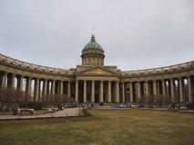 Kazan Cathedral in Saint Petersburg, Russia. Stock Photos