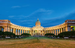 Kazan Cathedral in Saint Petersburg, Russia Stock Image