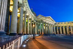 Kazan Cathedral in Saint Petersburg, Russia Stock Photography