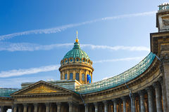 Kazan Cathedral, St. Petersburg. Russia Stock Photo