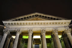 Kazan Cathedral in St. Petersburg by night Royalty Free Stock Photo