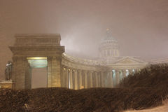 Kazan Cathedral, St. Petersburg, Russia Stock Photography