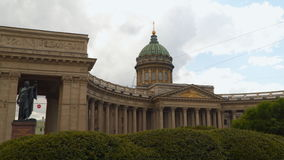 Kazan Cathedral St. Petersburg stock video
