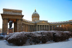 Kazan Cathedral in St. Petersburg, Russia Stock Photography